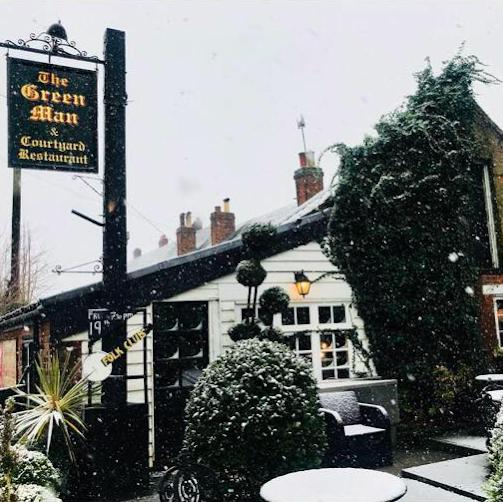 The Green Man, Toot Hill - restaurant  | Photo 2 of 2 | Address: School Rd, Ongar CM5 9SD, UK | Phone: 01992 522255