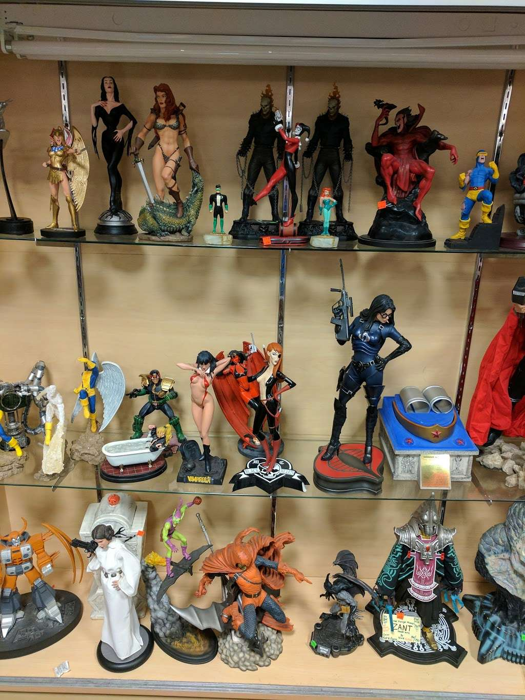 Dream World Collectibles - art gallery    Photo 7 of 10   Address: 1555 Simi Town Center Way #165, Simi Valley, CA 93065, USA   Phone: (805) 581-0409