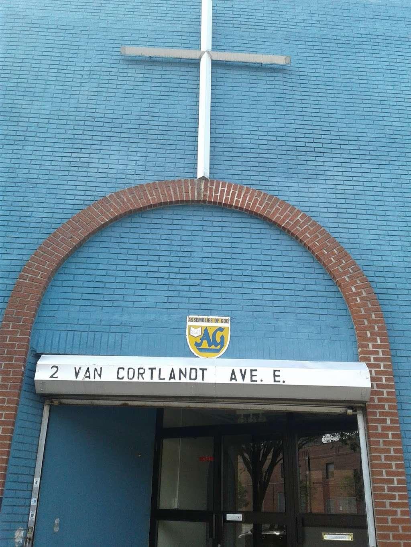 Glad Tidings Assembly of God - church  | Photo 1 of 2 | Address: 2 Van Cortlandt Ave E, Bronx, NY 10468, USA | Phone: (718) 367-4040