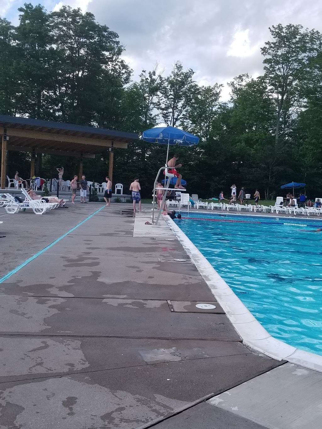 Barca Pool Complex - Eagle Lake - park  | Photo 3 of 10 | Address: Covington Township, PA 18424, USA