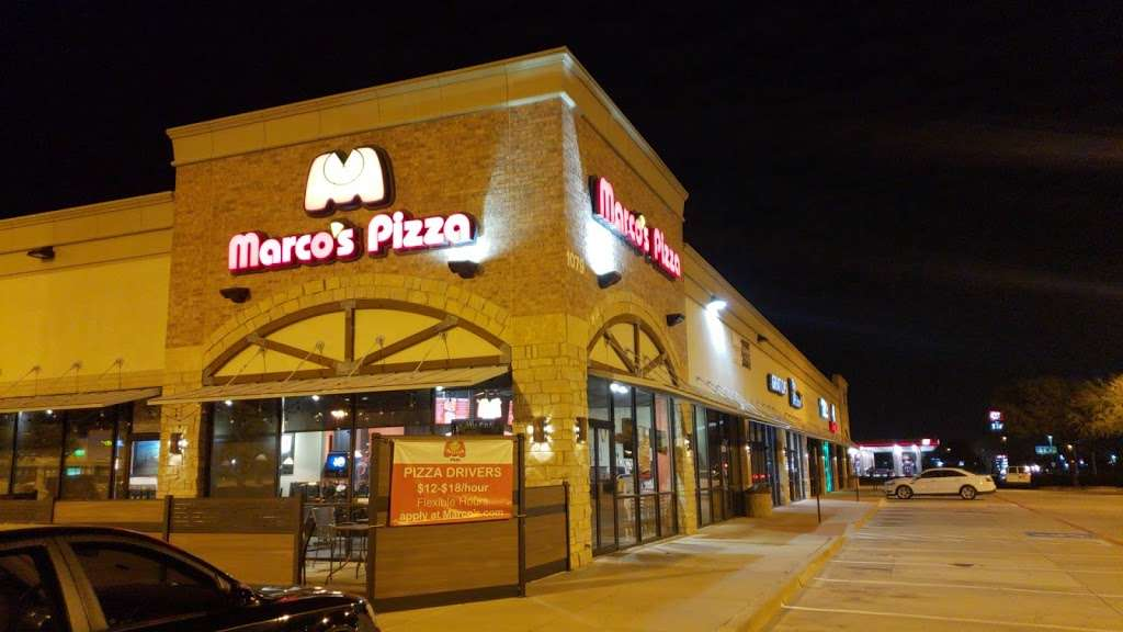 Marcos Pizza - meal delivery    Photo 3 of 9   Address: 1079 W Round Grove Rd, Lewisville, TX 75067, USA   Phone: (972) 221-5200