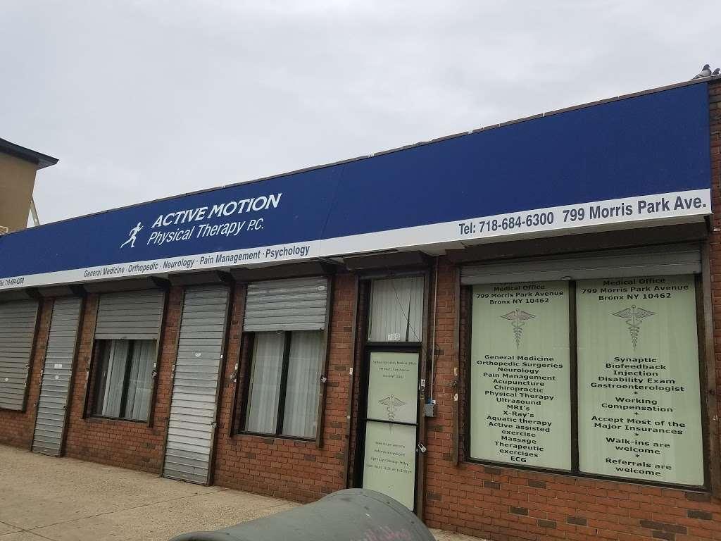 Holsman Physical Therapy - physiotherapist  | Photo 1 of 3 | Address: 799 Morris Park Ave, Bronx, NY 10462, USA | Phone: (718) 684-6300