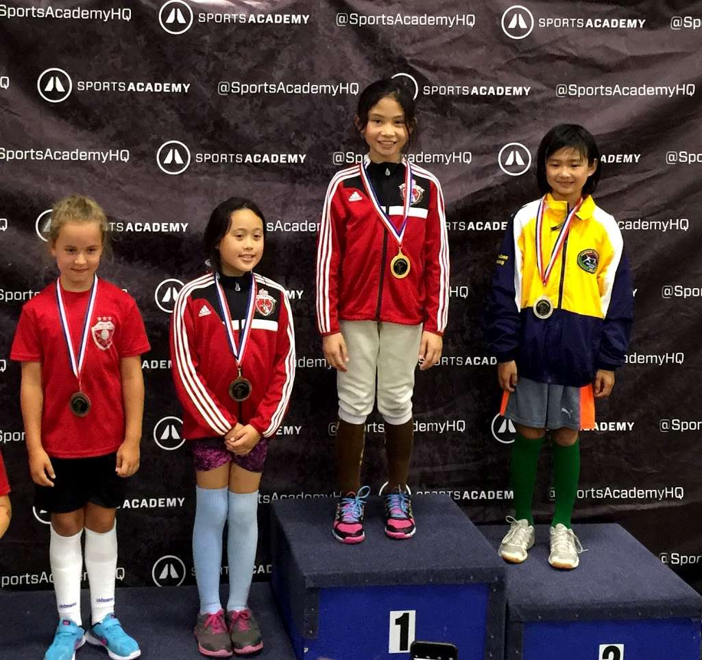 Academy of Fencing Masters - health    Photo 7 of 10   Address: 1269 Forgewood Ave, Sunnyvale, CA 94089, USA   Phone: (408) 542-9580