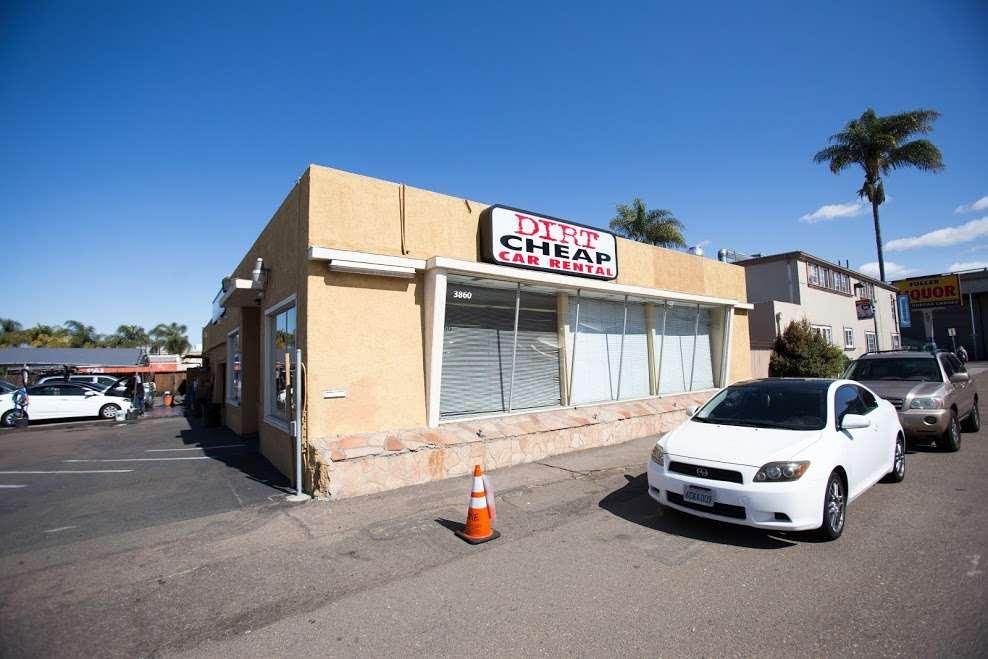 Cheap Rental Cars San Diego >> Dirt Cheap Car Rental 3860 Rosecrans St San Diego Ca