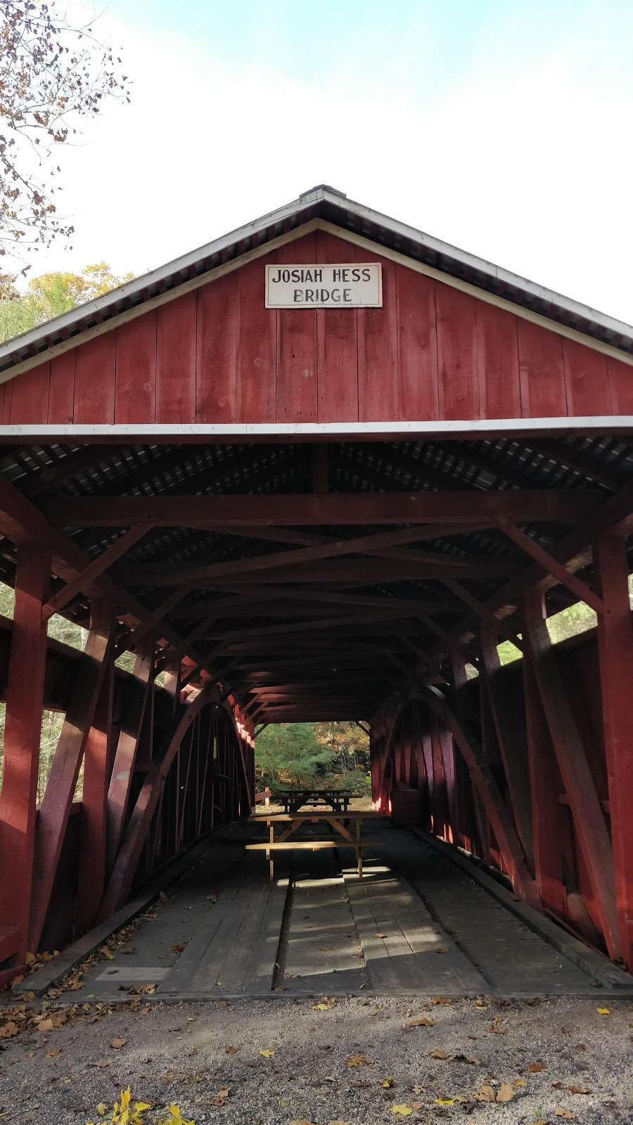Josiah Hess Covered Bridge - museum  | Photo 8 of 10 | Address: Winding Rd, Orangeville, PA 17859, USA