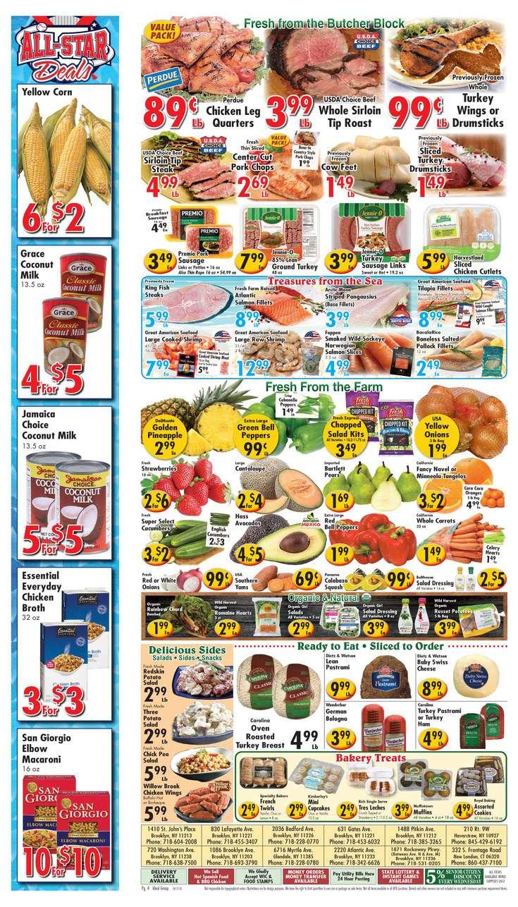 Golden Mango Supermarkets - supermarket  | Photo 9 of 10 | Address: 1871 Rockaway Pkwy, Brooklyn, NY 11236, USA | Phone: (718) 531-0205