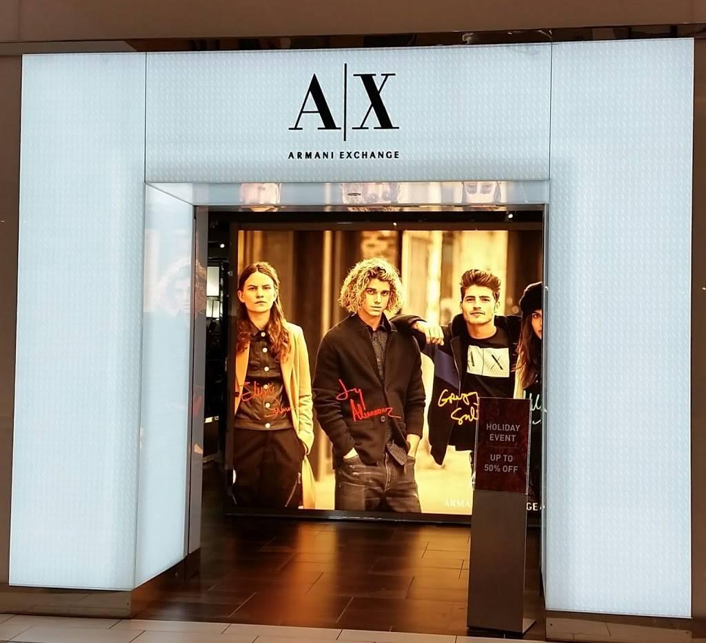 A|X Armani Exchange - clothing store  | Photo 5 of 7 | Address: 1400 Willowbrook Mall Space 1840, Wayne, NJ 07470, USA | Phone: (973) 237-0244