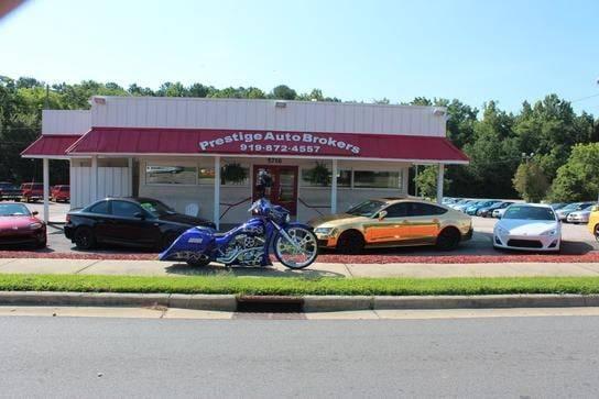 Prestige Auto Brokers LLC - car dealer    Photo 1 of 4   Address: 5716 Louisburg Rd, Raleigh, NC 27616, USA   Phone: (919) 872-4557