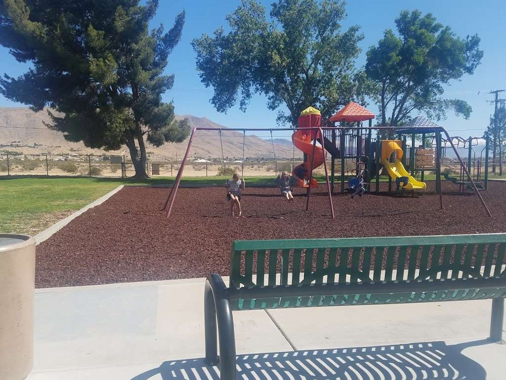 Mendel Park - park  | Photo 9 of 10 | Address: 21860 Tussing Ranch Rd, Apple Valley, CA 92308, USA | Phone: (760) 240-7000