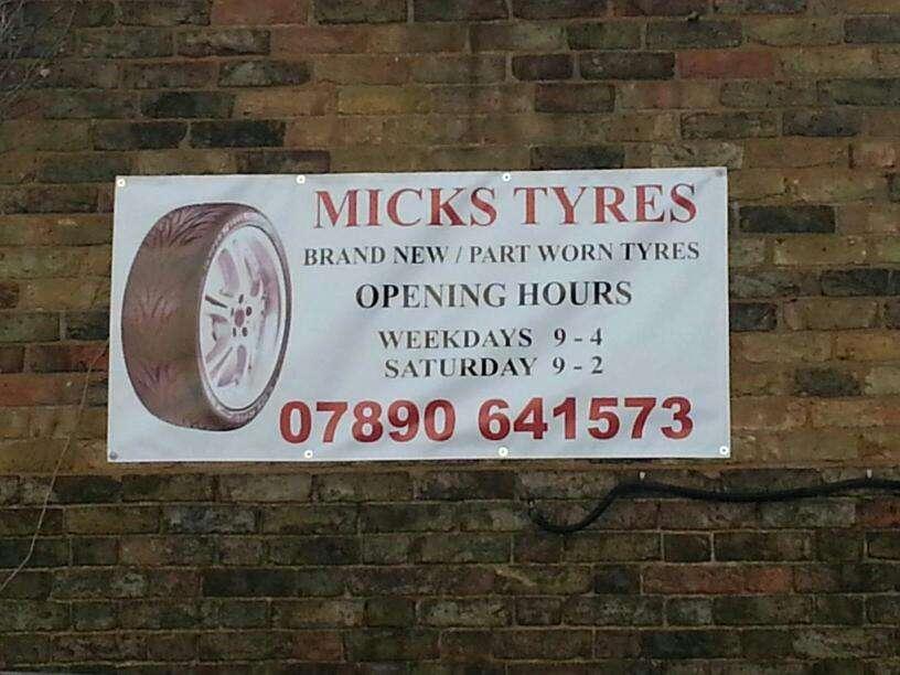 Micks Tyres - car repair  | Photo 1 of 1 | Address: Goshems Farm, Station Rd, East Tilbury, Tilbury RM18 8QR, UK | Phone: 07890 641573