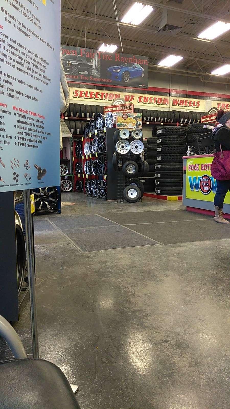 Town Fair Tire - car repair  | Photo 6 of 9 | Address: 255 US-44, Raynham, MA 02767, USA | Phone: (508) 821-2100