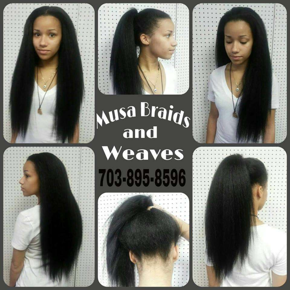 Musa Braids and Weaves - hair care    Photo 9 of 10   Address: 7222 Nathan Ct, Manassas, VA 20109, USA   Phone: (703) 361-8282