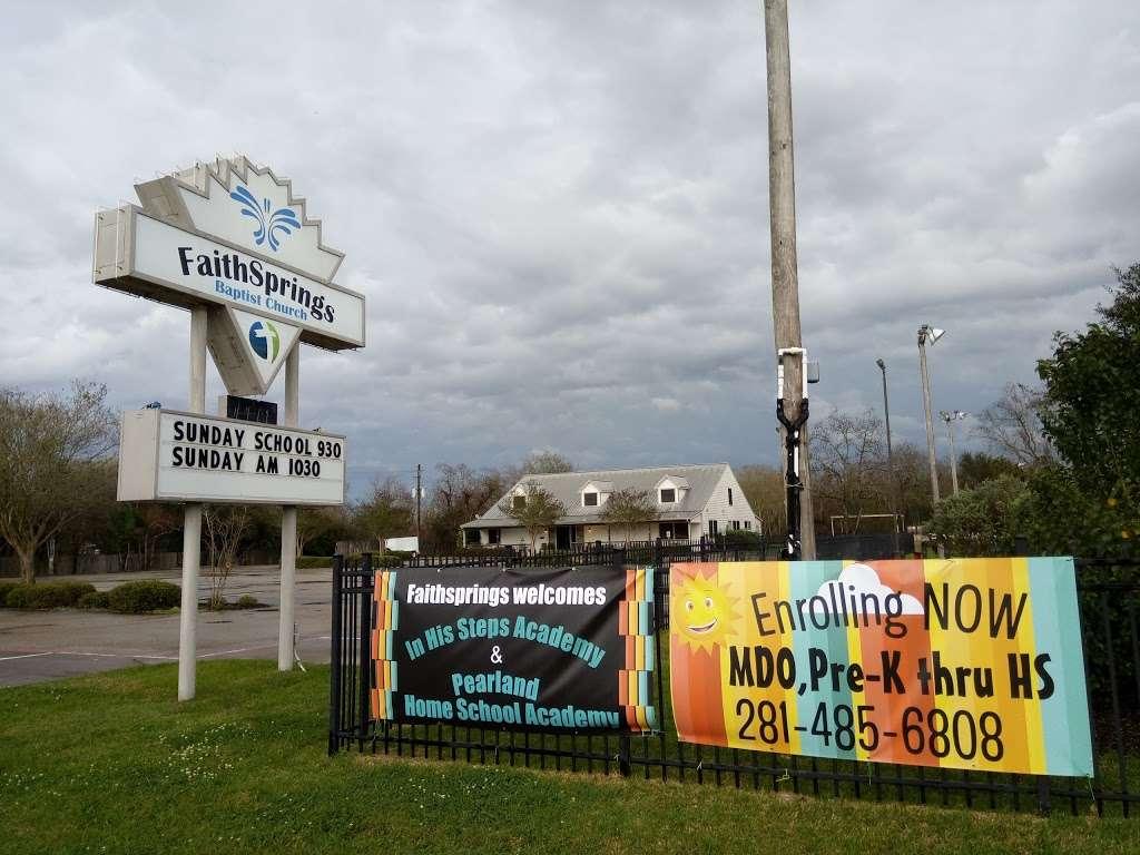 FaithSprings Baptist Church (formerly Park Place Baptist Church) - church  | Photo 1 of 5 | Address: 2551 Oday Rd, Pearland, TX 77581, USA | Phone: (281) 485-5353