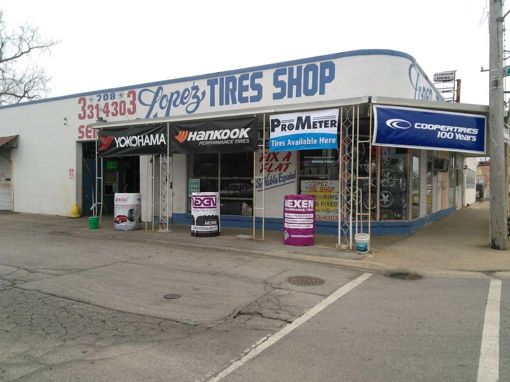 Lopez Tire Shop - car repair  | Photo 2 of 10 | Address: 15303 S Halsted St, Harvey, IL 60426, USA | Phone: (708) 331-4303