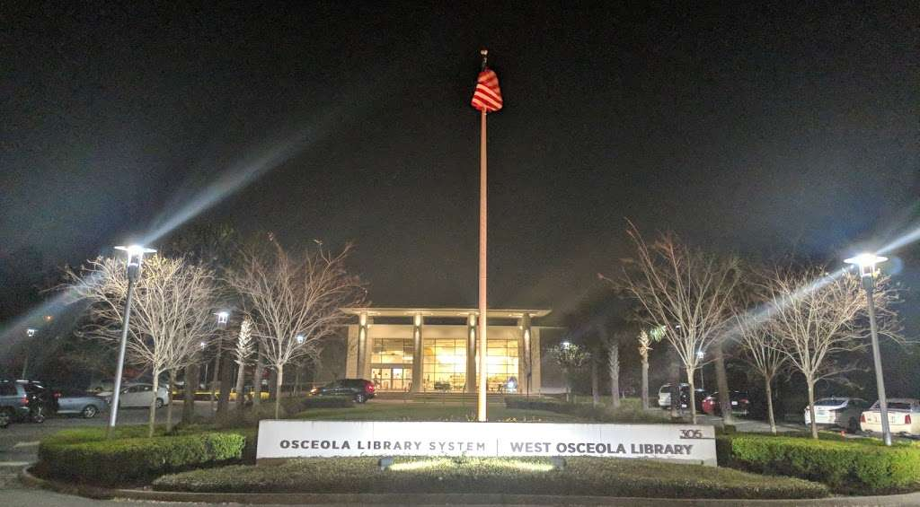 West Osceola Branch Library - library  | Photo 10 of 10 | Address: 305 Campus St, Kissimmee, FL 34747, USA | Phone: (407) 742-8888