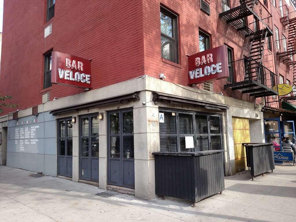 Bar Veloce - restaurant  | Photo 3 of 10 | Address: 146 W Houston St, New York, NY 10012, USA | Phone: (212) 253-9500
