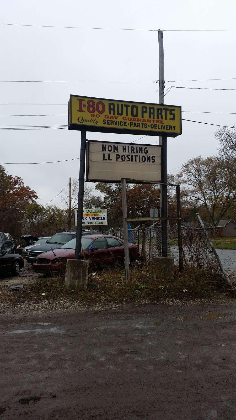 I 80 Auto Parts >> I 80 Auto Parts Car Repair 3349 Burr St Gary In 46406 Usa