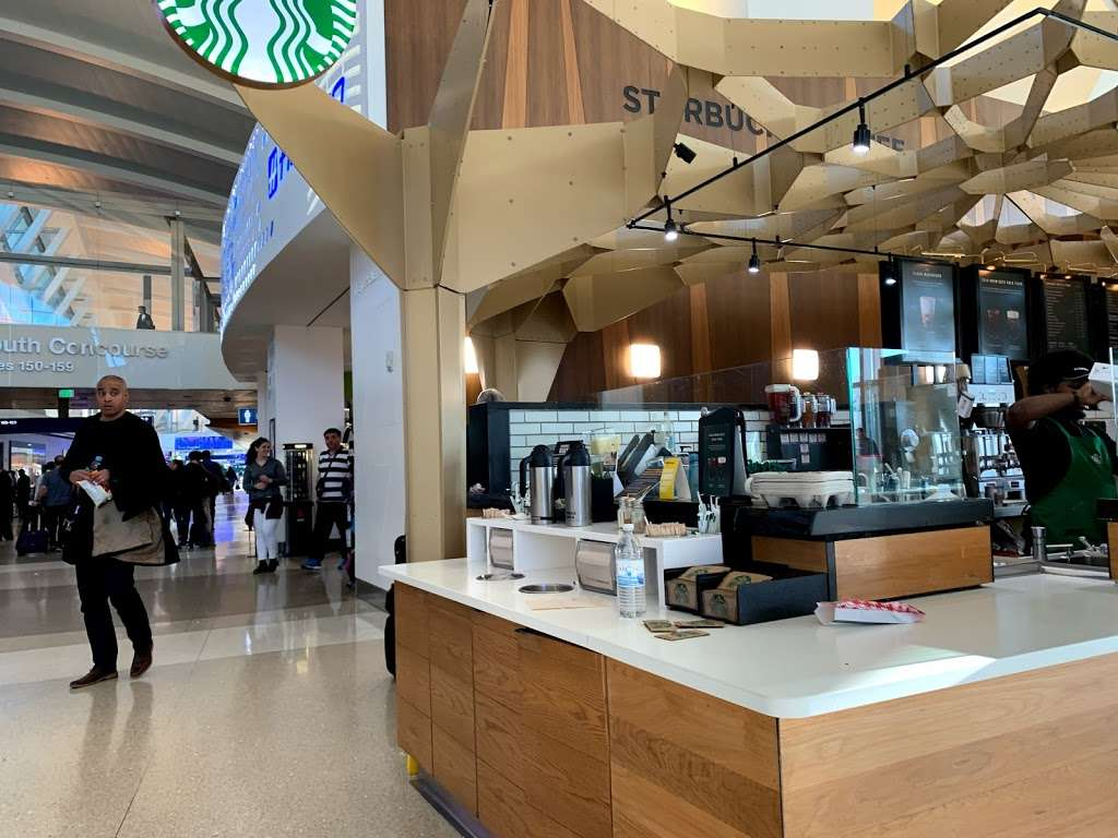 Starbucks Tom Bradley International Terminal LAX - cafe    Photo 9 of 10   Address: Los Angeles, CA 90045, USA   Phone: (424) 222-4000