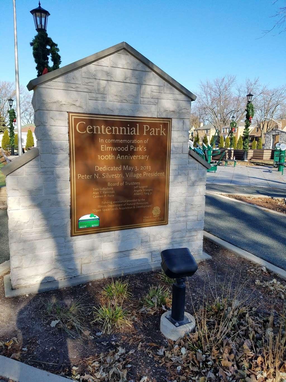 Centennial Park - park  | Photo 4 of 10 | Address: 7600 W Armitage Ave, Elmwood Park, IL 60707, USA