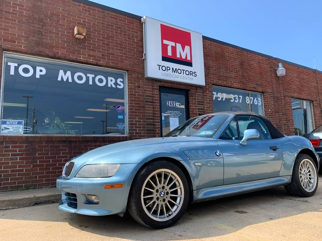TOP MOTORS LLC - car dealer  | Photo 1 of 9 | Address: 2492 Airline Blvd, Portsmouth, VA 23701, USA | Phone: (757) 337-8763