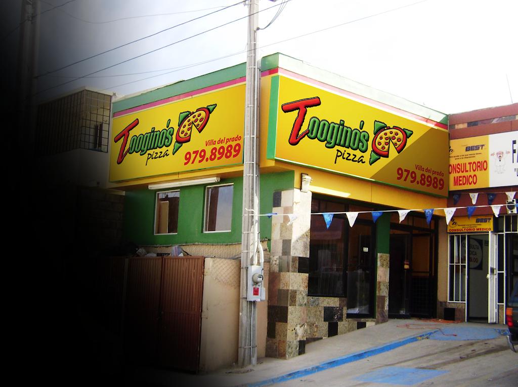 Tooginos Pizza - Villa del Prado - meal delivery  | Photo 1 of 7 | Address: Calle Abeto s/n, Fracc. Urbi Villa 2da. Secc., 22101 Tijuana, B.C., Mexico | Phone: 664 979 8989