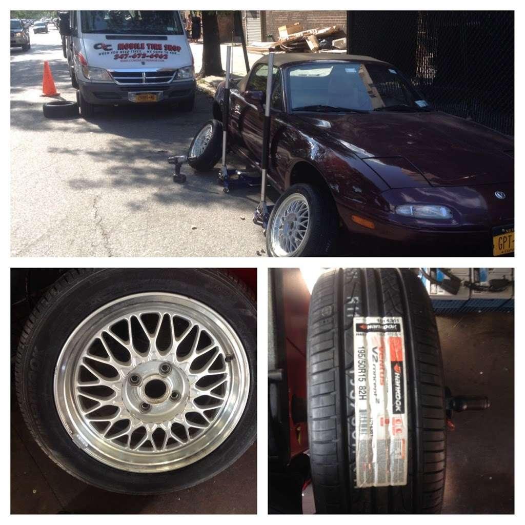 Mobile Tire Shop - car repair    Photo 6 of 10   Address: 654 Utica Ave, Brooklyn, NY 11203, USA   Phone: (347) 673-6962