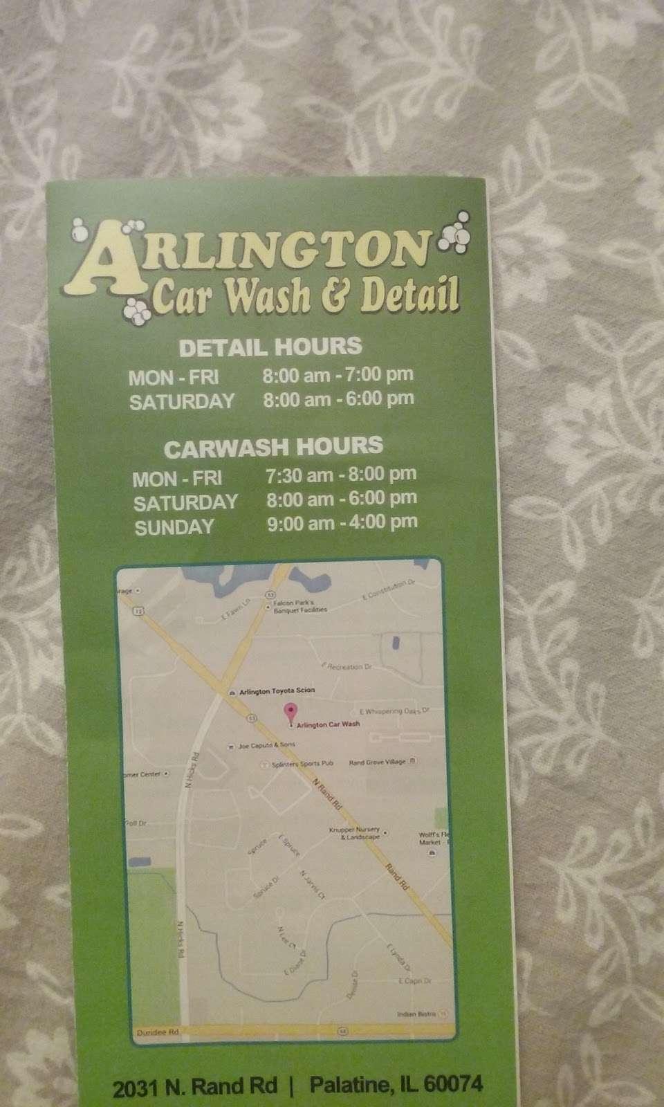 Arlington Car Wash - car wash  | Photo 5 of 5 | Address: 2031 N Rand Rd, Palatine, IL 60074, USA | Phone: (847) 485-1400