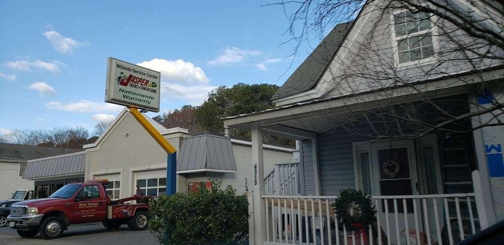 Willards Service Center - car repair    Photo 1 of 5   Address: 4311 Main St, Grasonville, MD 21638, USA   Phone: (410) 827-7222