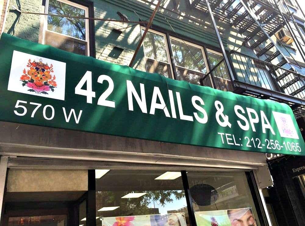 42 Nails & Spa - hair care  | Photo 7 of 10 | Address: 570 9th Ave, New York, NY 10036, USA | Phone: (212) 256-1065