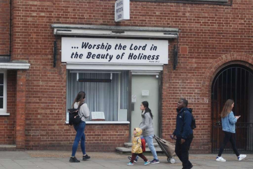 Universal Pentecostal Church - church    Photo 4 of 10   Address: 20 Acre Ln, Brixton, London SW2 5SG, UK   Phone: 020 7738 5566
