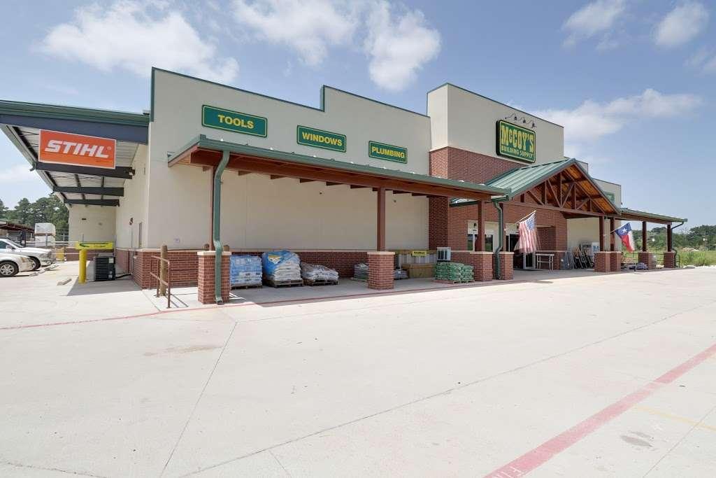 McCoys Building Supply - hardware store    Photo 10 of 10   Address: 20341 Eva St, Montgomery, TX 77356, USA   Phone: (936) 597-3987