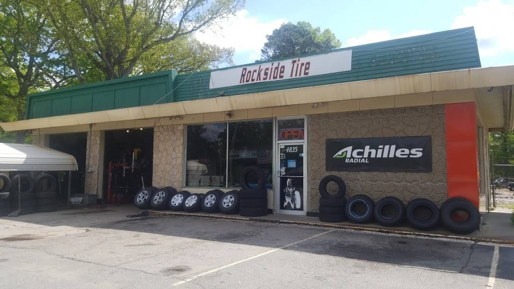 Rockside Tire Sales & Services - car repair  | Photo 3 of 10 | Address: 4835 Fayetteville Rd, Raleigh, NC 27603, USA | Phone: (919) 772-5101