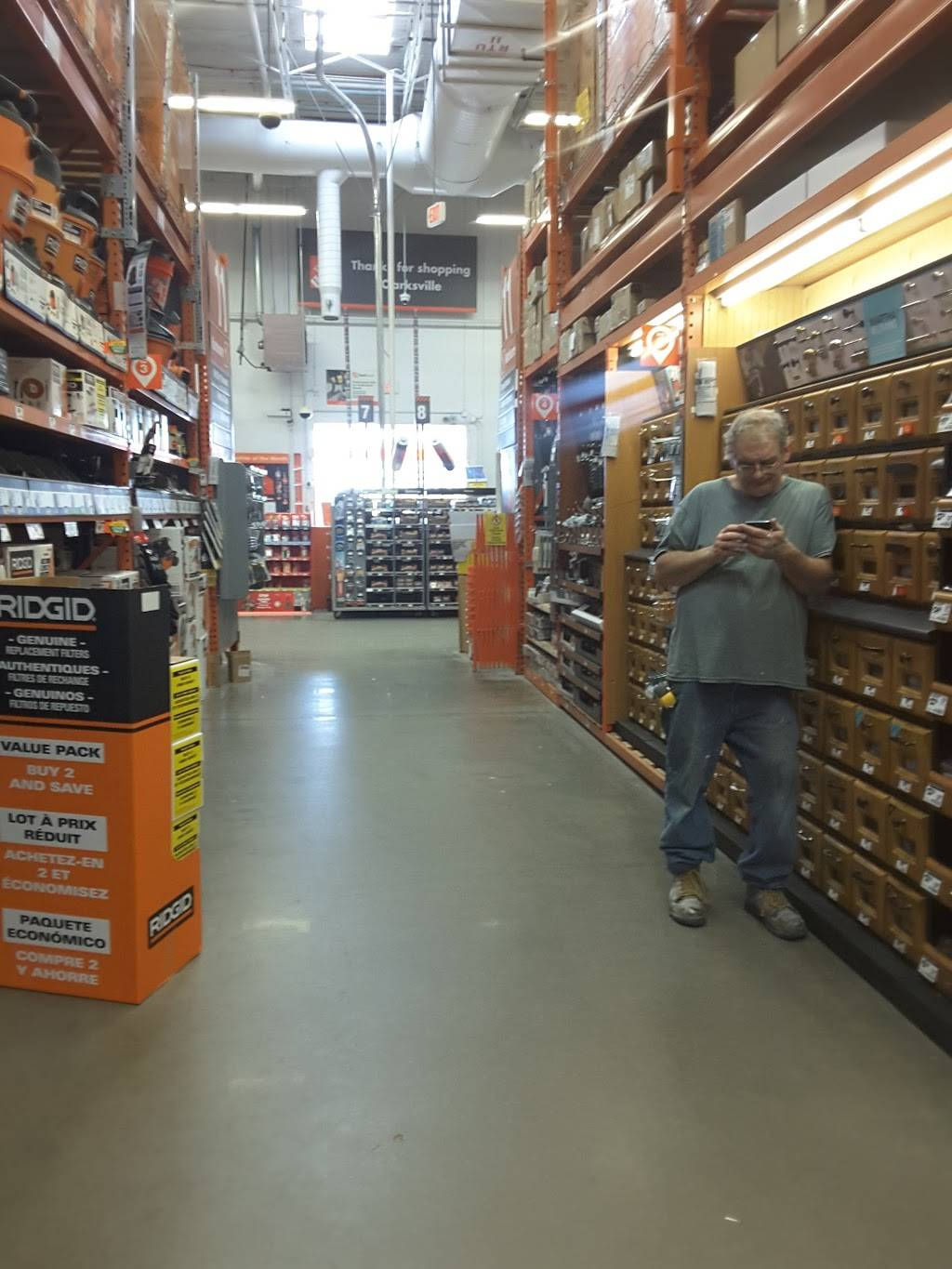 The Home Depot 1000 East Hwy 131 Clarksville In 47129 Usa