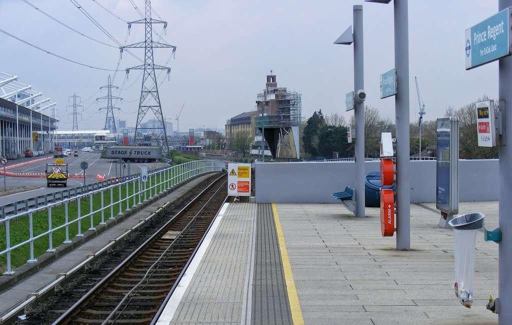 Prince Regent - train station    Photo 5 of 10   Address: Victoria Dock Rd, London E16 3DB, UK   Phone: 0343 222 1234
