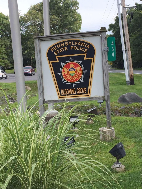 PA State Police Blooming Grove Barracks - police  | Photo 2 of 2 | Address: 434 PA-402, Hawley, PA 18428, USA | Phone: (570) 226-5718