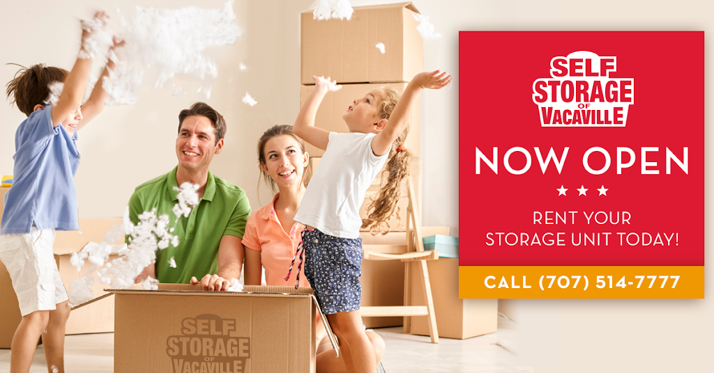 Self Storage of Vacaville - moving company  | Photo 9 of 9 | Address: 201 Leisure Town Rd, Vacaville, CA 95687, USA | Phone: (707) 840-5599