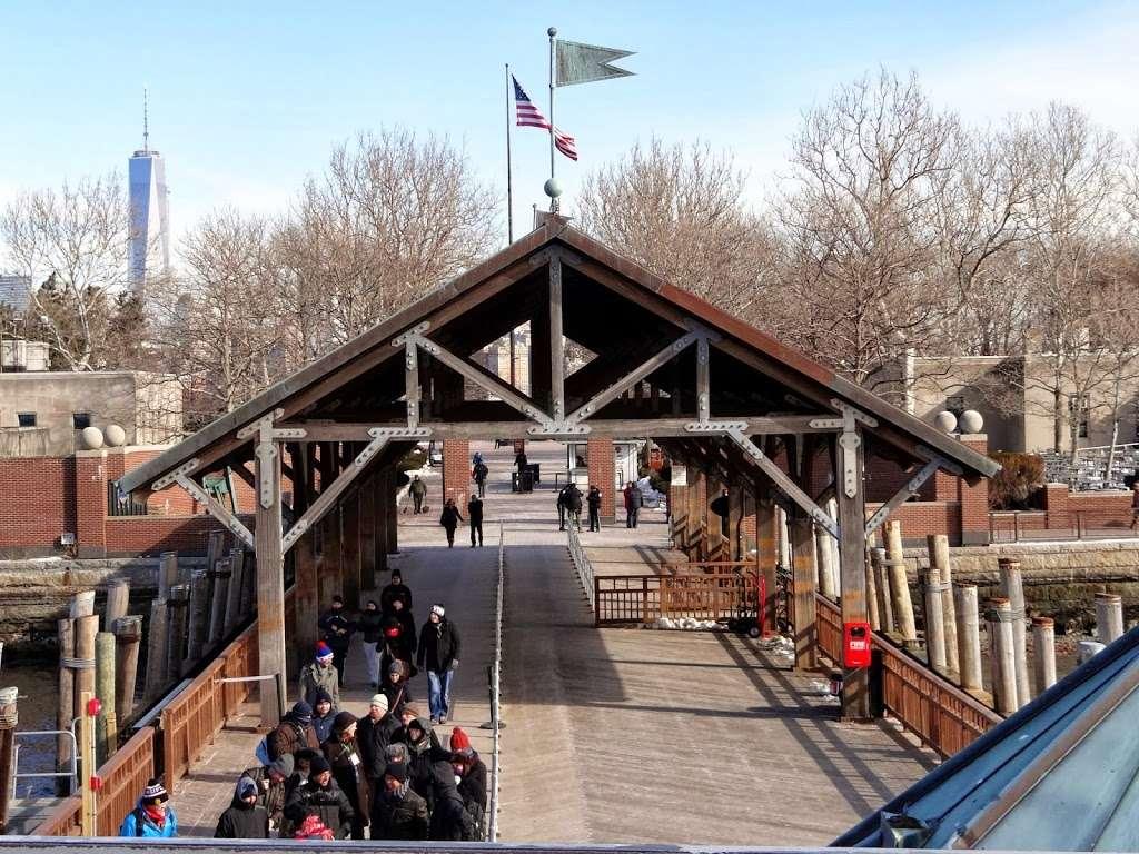 Liberty Island Ferry - transit station  | Photo 3 of 10 | Address: 1 Audrey Zapp Dr, Jersey City, NJ 07305, USA | Phone: (201) 604-2800