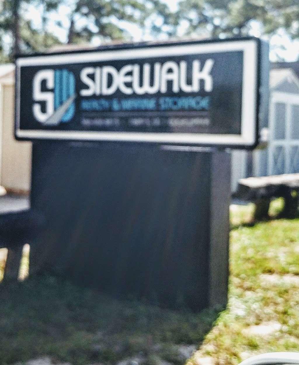 SW SIDEWALK BOAT & TRAILER STORAGE - storage  | Photo 2 of 2 | Address: US-1, Edgewater, FL 32141, USA | Phone: (386) 402-8815
