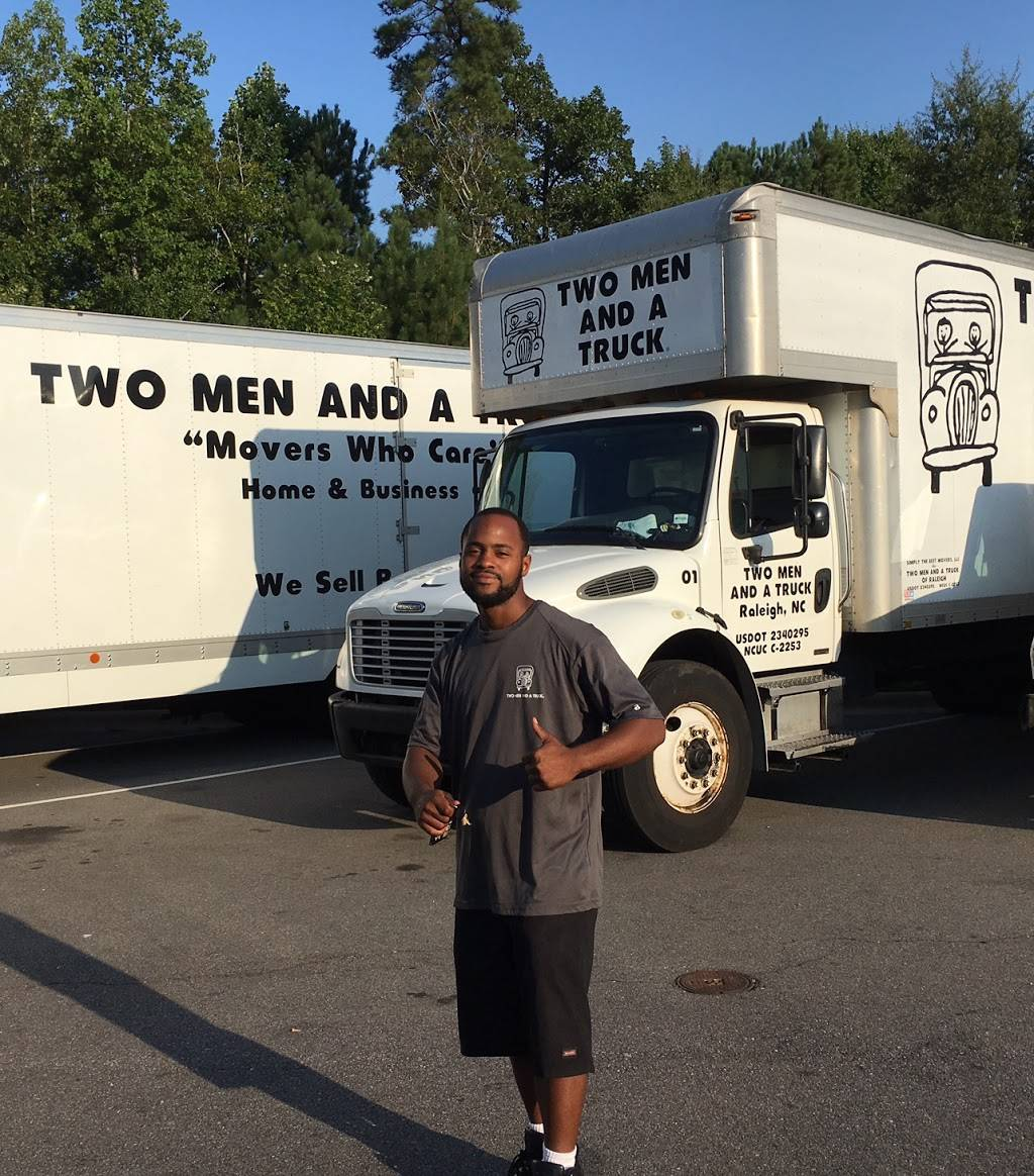 Two Men and a Truck - moving company  | Photo 2 of 10 | Address: 7711 Welborn St Ste 110, Raleigh, NC 27615, USA | Phone: (919) 355-4138