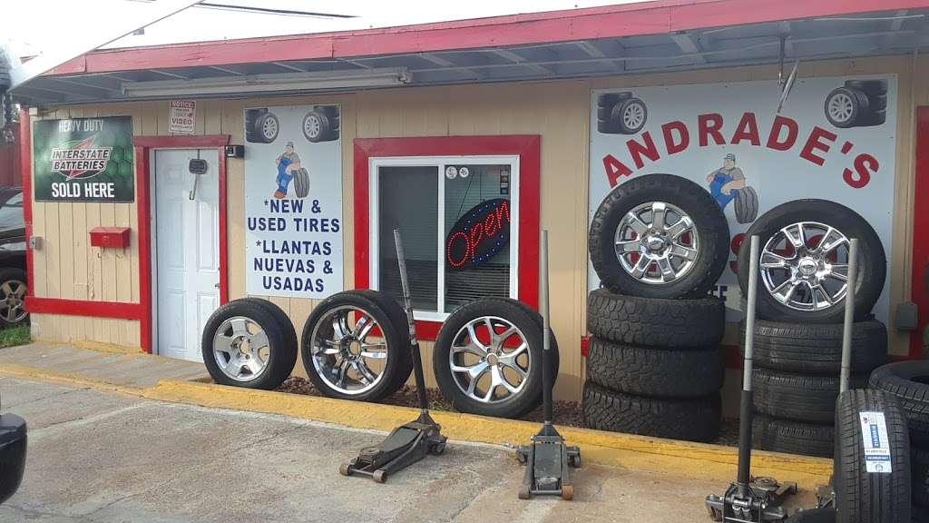 Andrades Tire Shop - car repair  | Photo 2 of 4 | Address: 2403 Red Bluff Rd, Pasadena, TX 77506, USA | Phone: (832) 742-5262