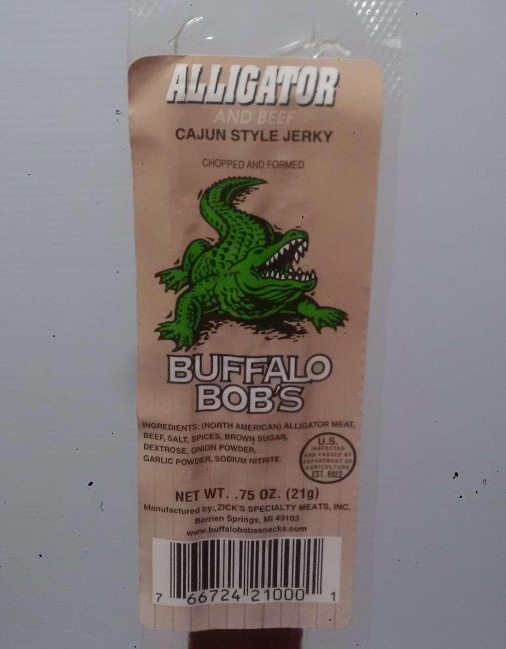 Sauls Southern Treats Alligator Meat & Jerky - pet store  | Photo 4 of 10 | Address: 54711 3rd St, Astor, FL 32102, USA | Phone: (386) 871-1677