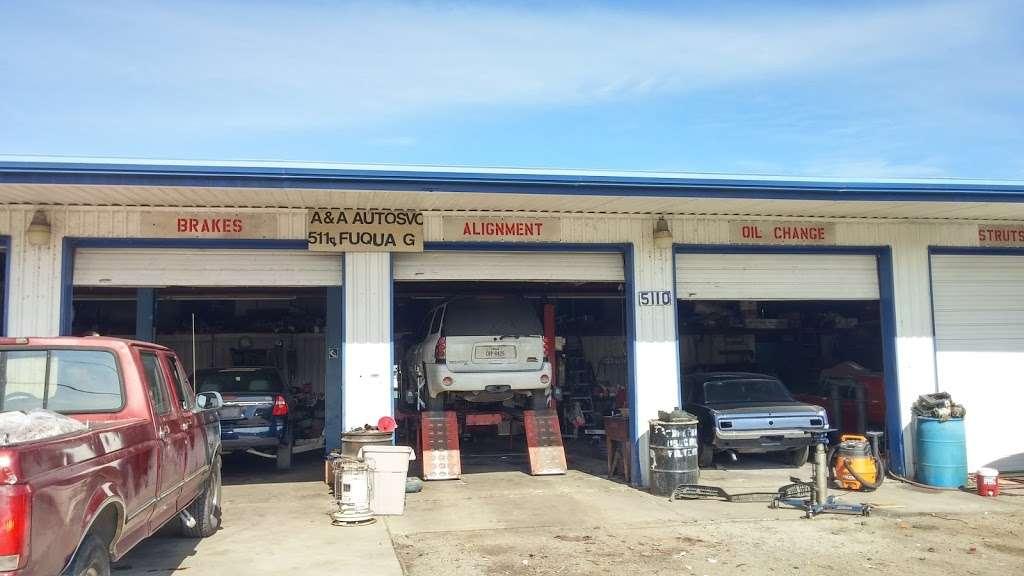 A & A Auto Service and Sales - car dealer    Photo 3 of 10   Address: 5110 Fuqua Gardens View Rd, Houston, TX 77045, USA   Phone: (713) 434-8464