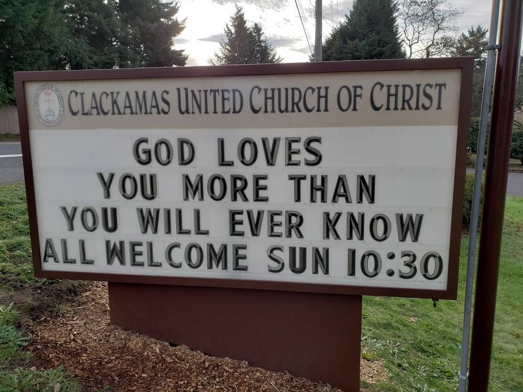 Clackamas United Church of Christ - church  | Photo 1 of 9 | Address: 15303 SE Webster Rd, Milwaukie, OR 97267, USA | Phone: (503) 654-0741