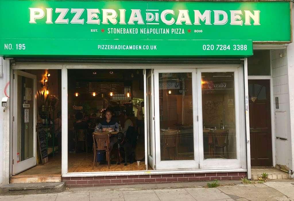 Pizzeria Di Camden - restaurant    Photo 4 of 10   Address: 195 Royal College St, London NW1 0SG, UK   Phone: 020 7284 3388