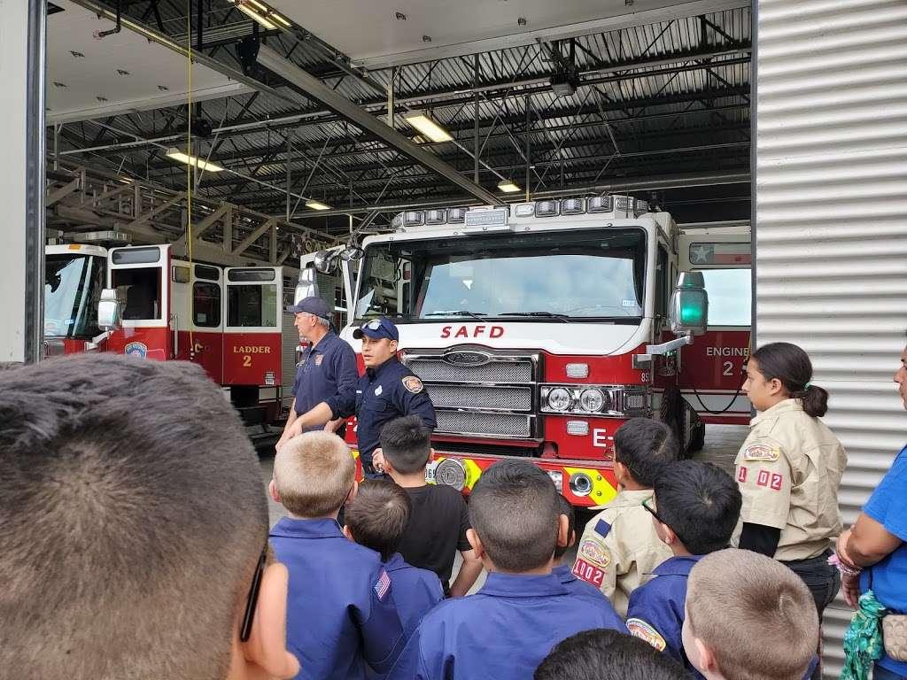San Antonio Fire Department Station #2 - fire station  | Photo 8 of 8 | Address: 1058 W Villaret Blvd, San Antonio, TX 78224, USA | Phone: (210) 206-2202
