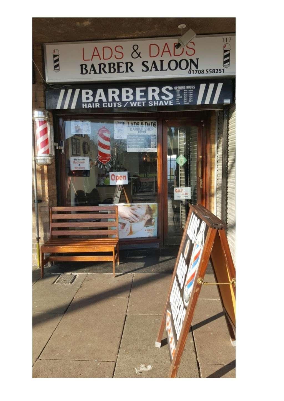 Lads & Dads Barbers (Charlies) - hair care  | Photo 2 of 2 | Address: 117 Mungo Park Rd, Rainham RM13 7PP, UK | Phone: 01708 558251