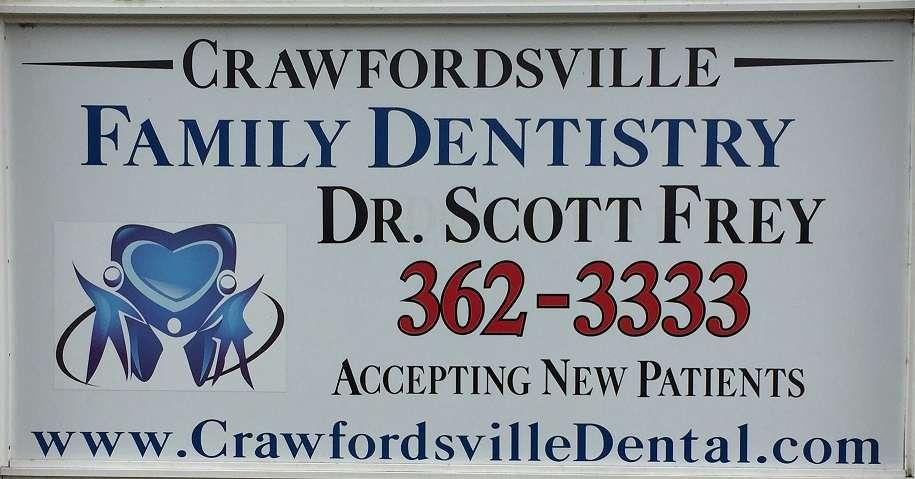 Crawfordsville Family Dentistry: Scott Frey DDS - dentist    Photo 7 of 9   Address: 506 Corda Blvd, Crawfordsville, IN 47933, USA   Phone: (765) 362-3333