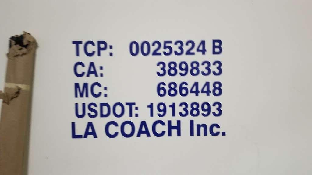 La Coach Charter Bus Co. - transit station    Photo 3 of 3   Address: E 154th St, Gardena, CA 90248, USA