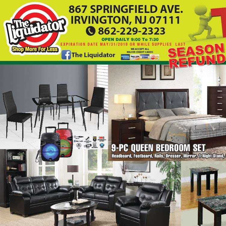 the liquidator department store - furniture store  | Photo 4 of 5 | Address: 867 Springfield Ave, Irvington, NJ 07111, USA | Phone: (862) 229-2323
