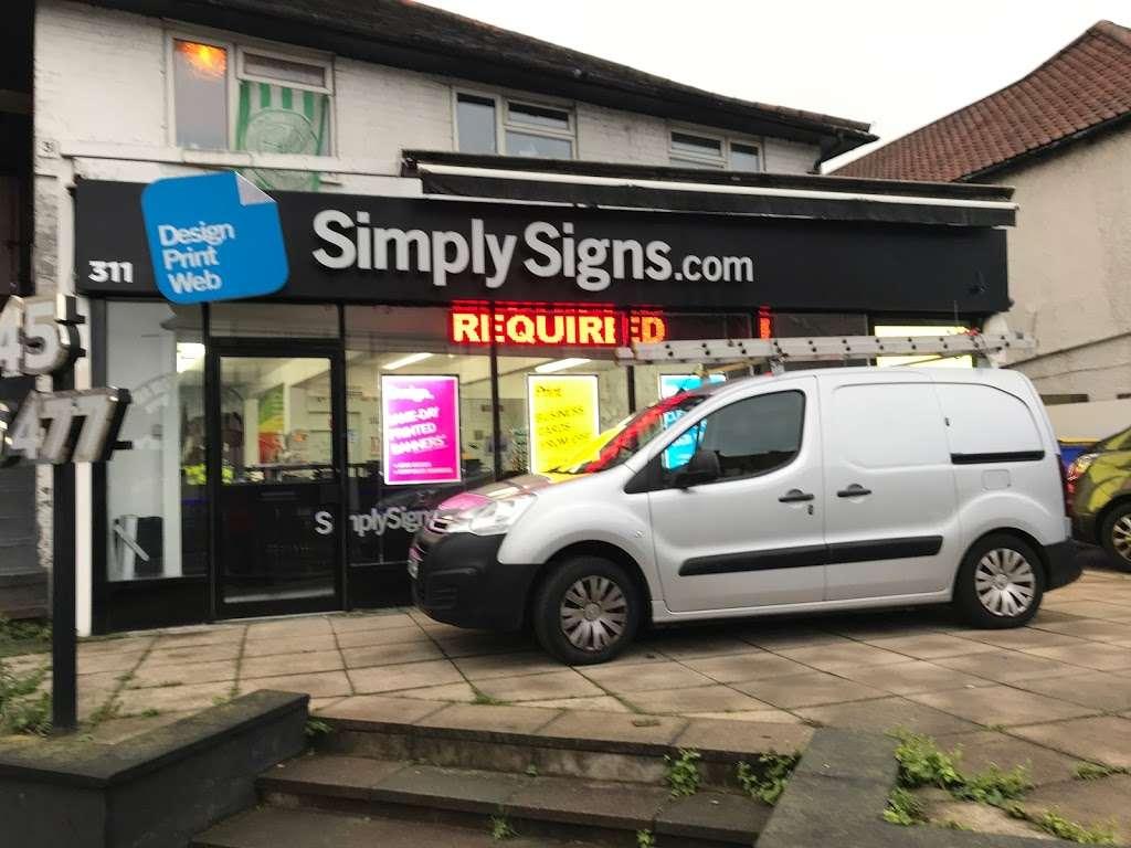Simply Signs Ltd - store  | Photo 3 of 10 | Address: 311 Neasden Ln N, London NW10 0AG, UK | Phone: 020 8452 9710